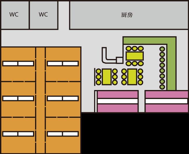 店内空间配置图